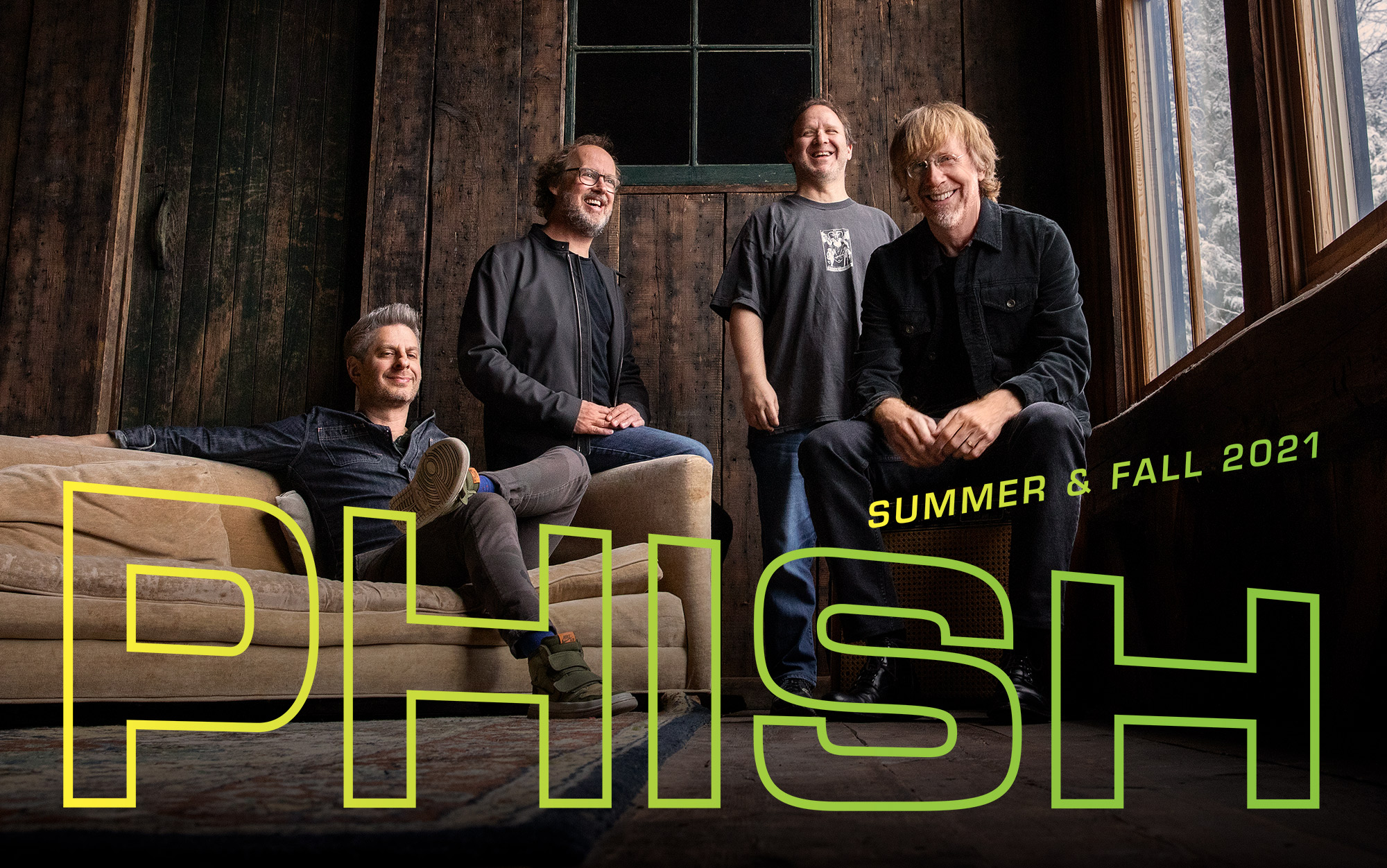 Download iCal and Google calendar for Phish tour dates and shows